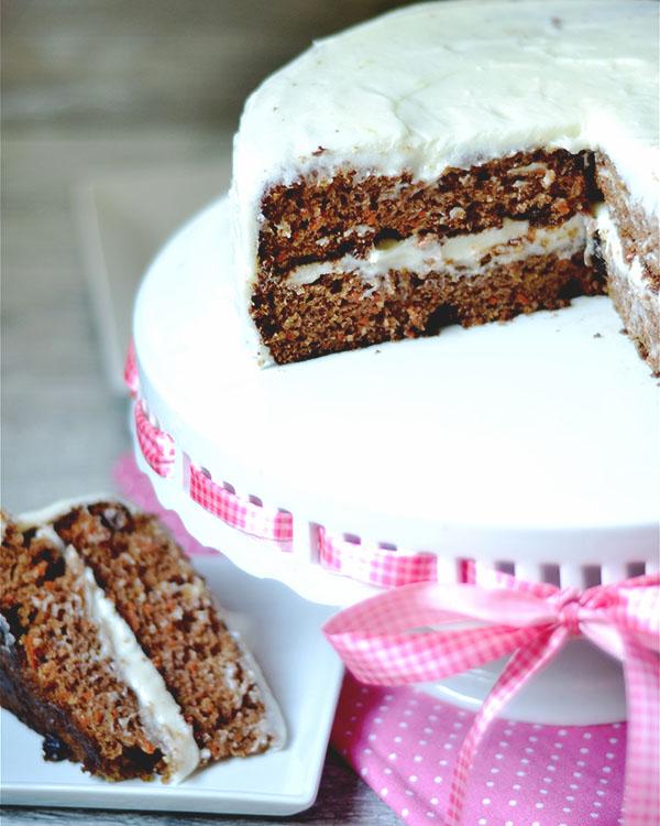 carrot cake lemon cream cheese frosting 2