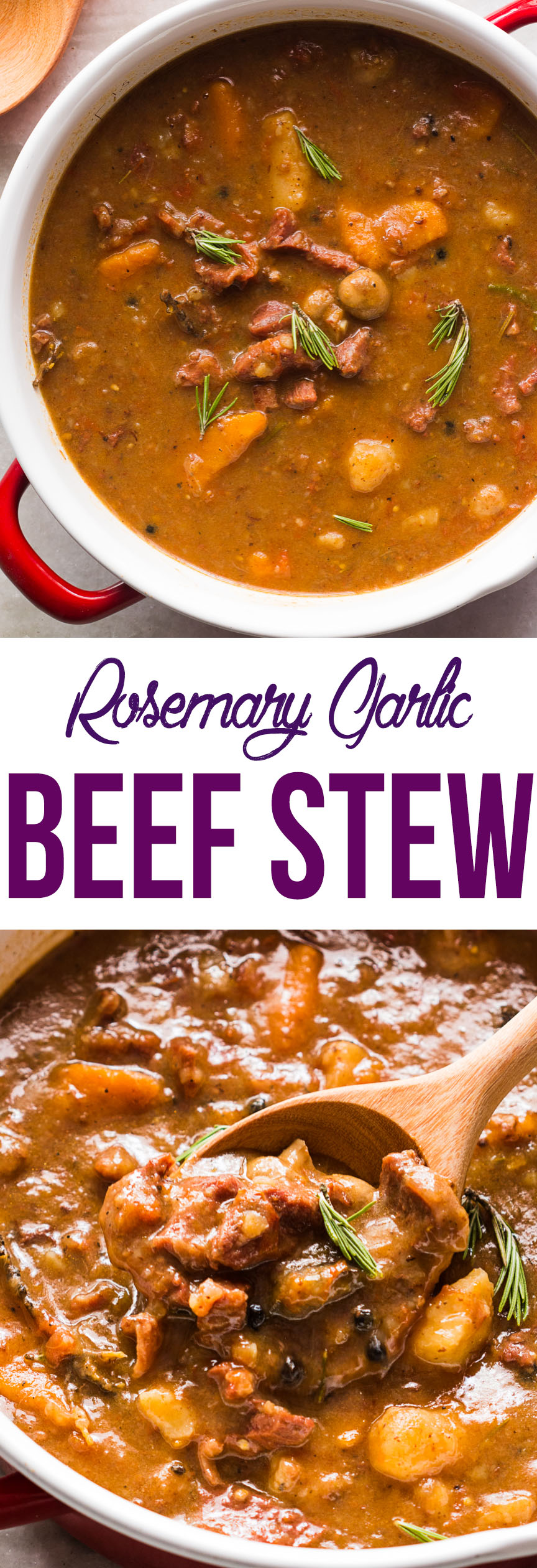 rosemary garlic beef stew pin