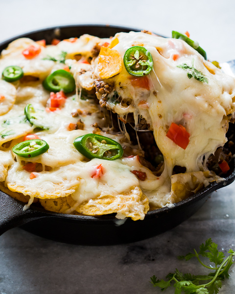 skillet beef taco casserole 2