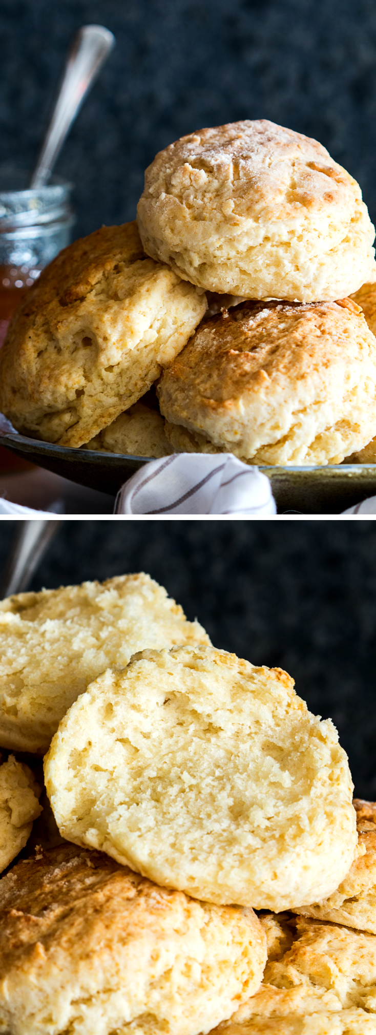 fluffy buttermilk biscuits pin