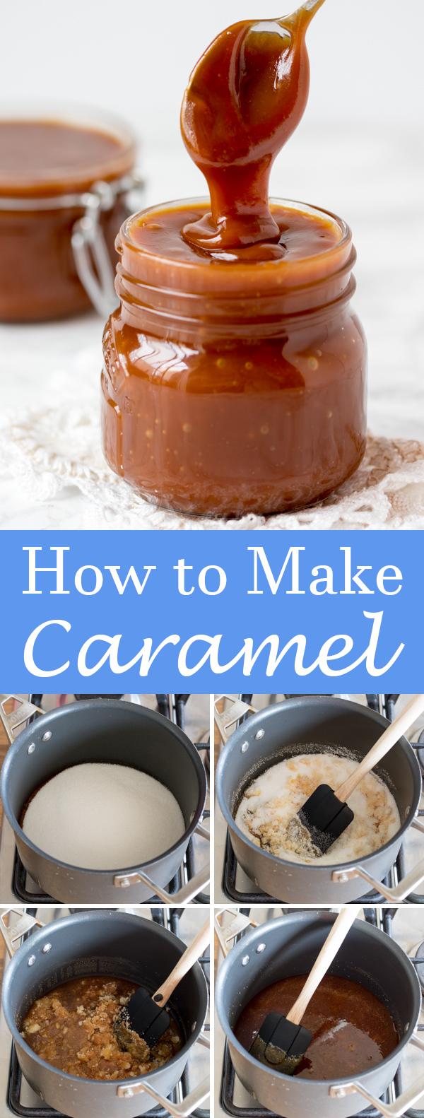 how to make caramel pin