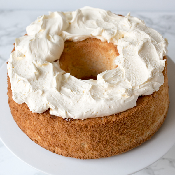 angel food cake peaches cream 3