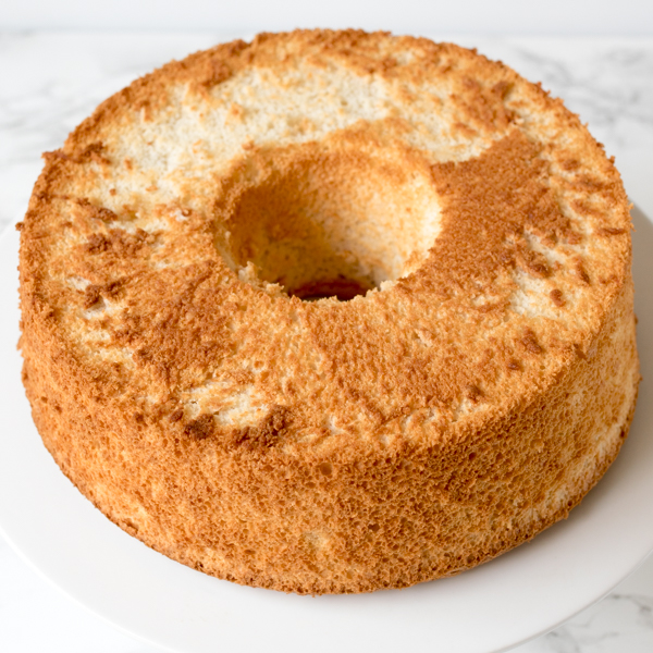 angel food cake peaches cream 4