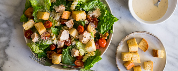 chicken caesar pasta salad 1