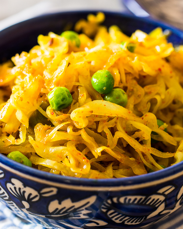 indian fried cabbage 2