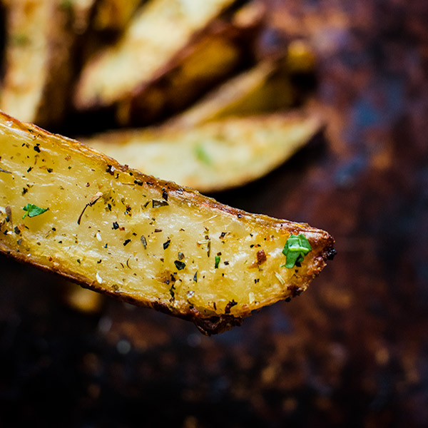 garlic potato wedges 3