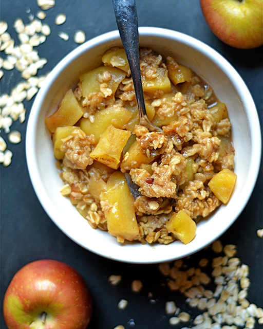 instant pot apple crisp 2