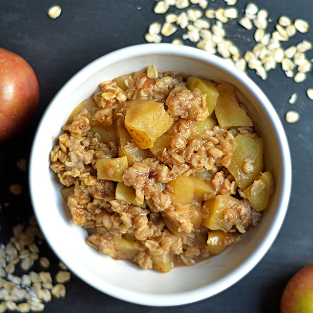 instant pot apple crisp 3