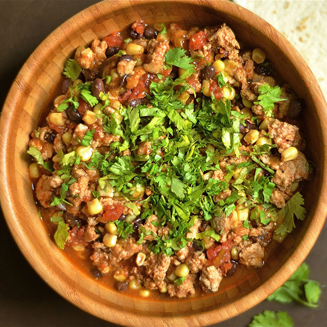 slow cooker southwest turkey tacos 5