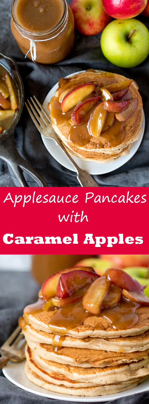 applesauce pancakes pin