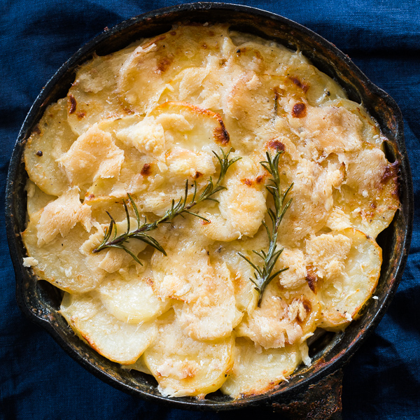 creamy au gratin potatoes 4