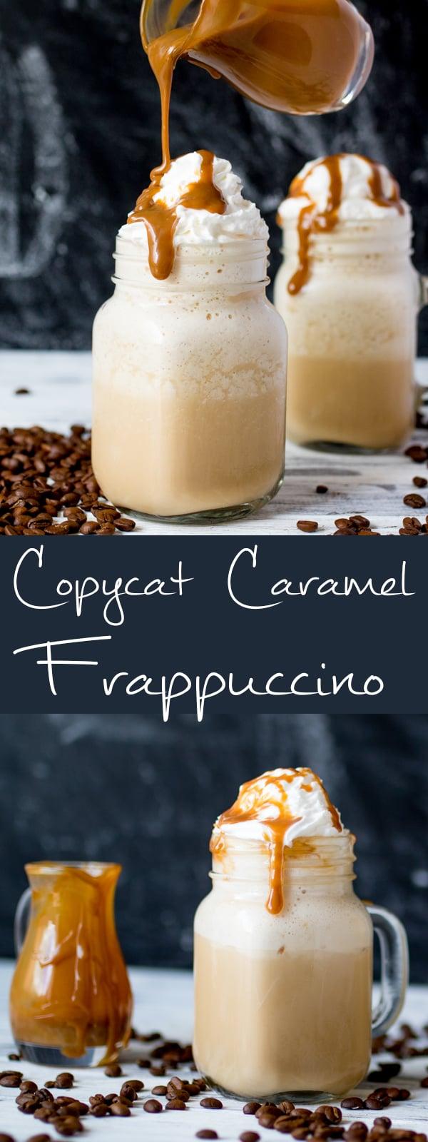 starbucks caramel frappuccino copycat pin
