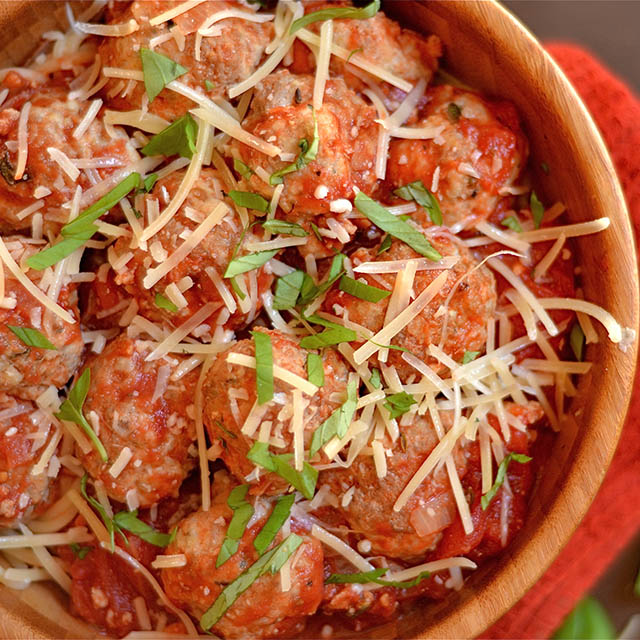 turkey parmesan meatballs 6