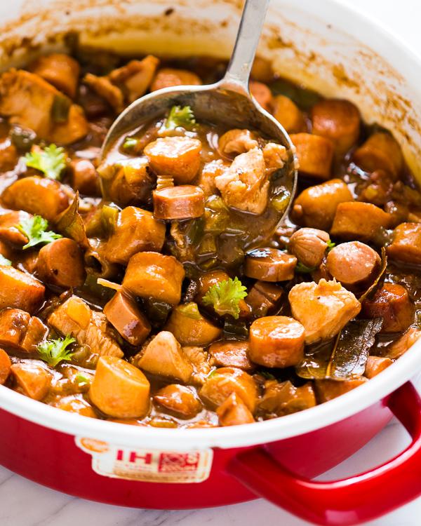 chicken sausage gumbo 2