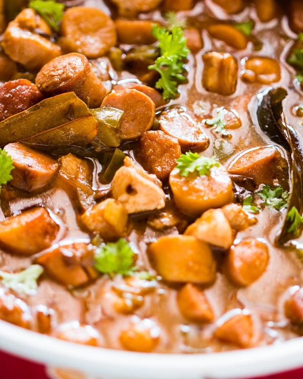 chicken sausage gumbo 3