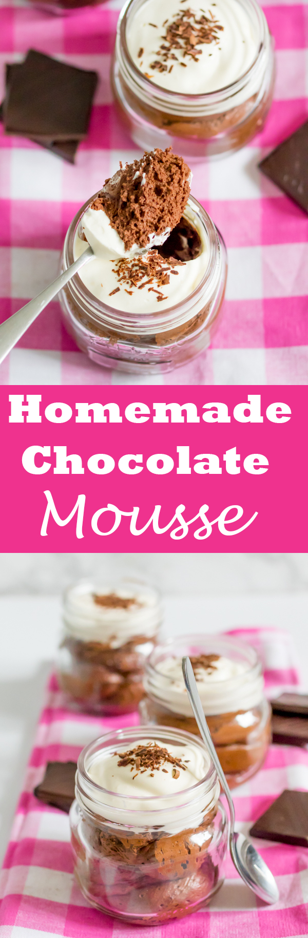 chocolate mousse whipped cream pin