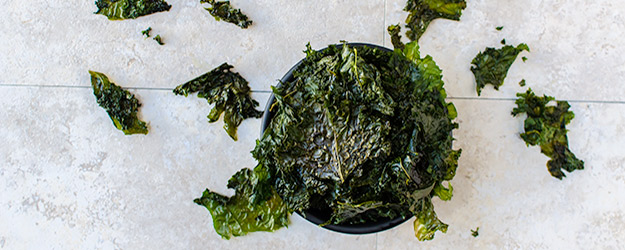 how to make kale chips 1