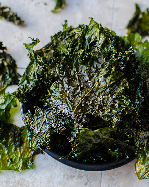 how to make kale chips 2