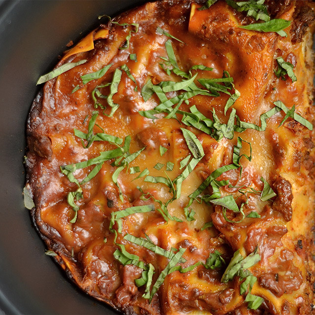 slow cooker lasagna 3