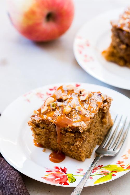 spiced applesauce cake 2