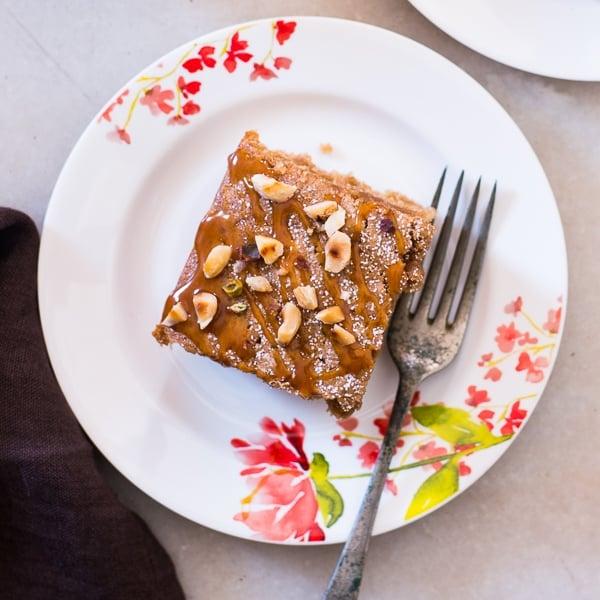spiced applesauce cake 4
