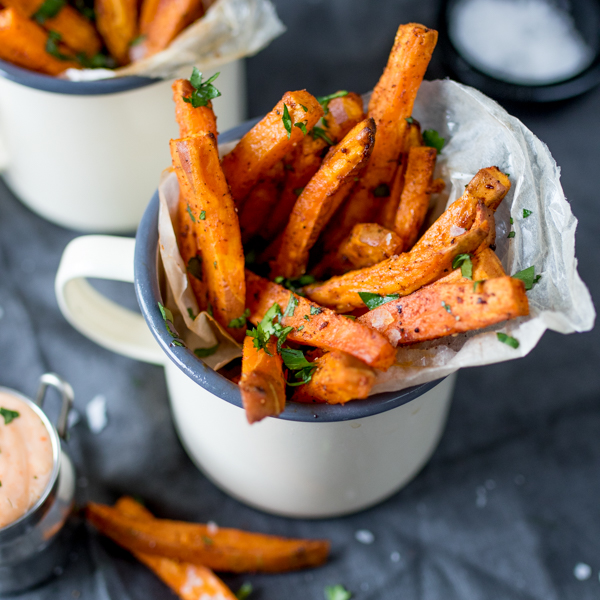 baked sweet potato fries 5