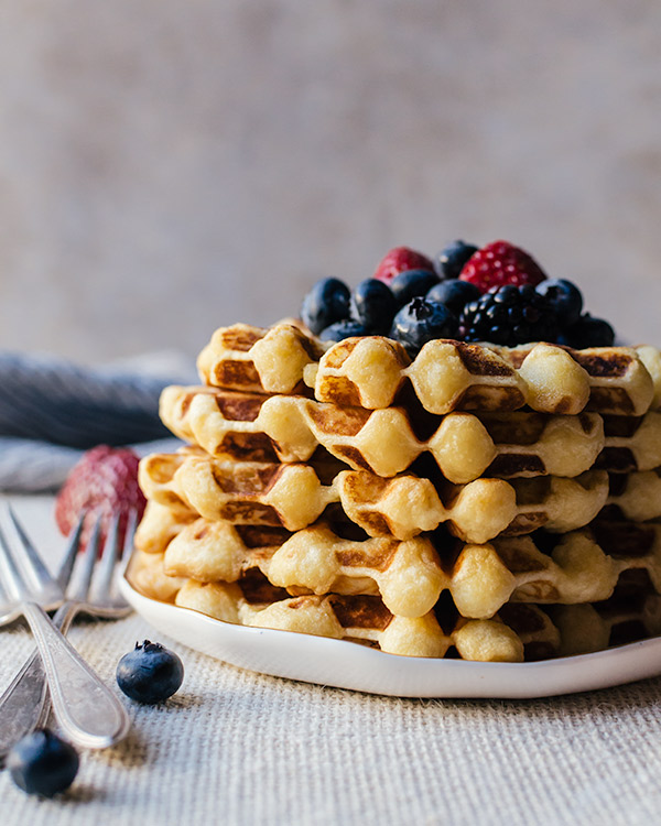 how to make waffles 2