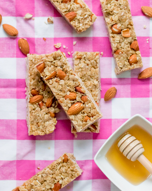 no bake honey granola bars 3