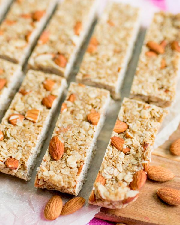 no bake honey granola bars 4
