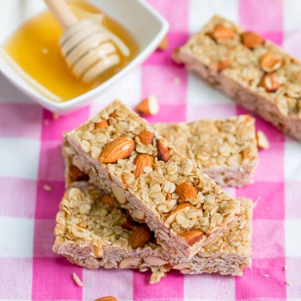 no bake honey granola bars 5