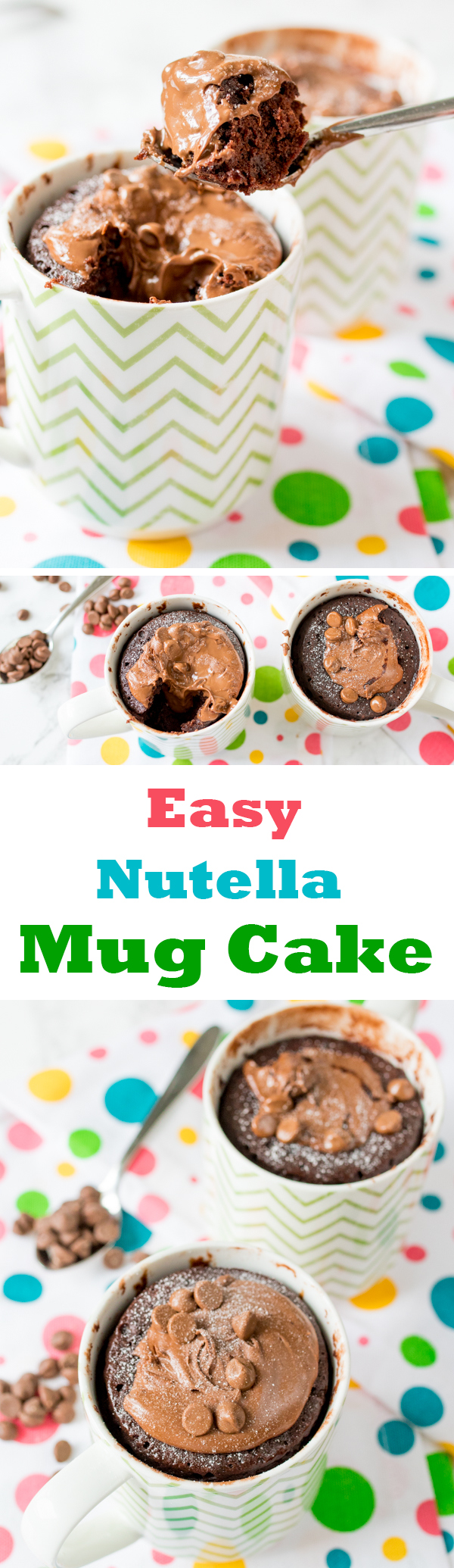 nutella mug cake pin