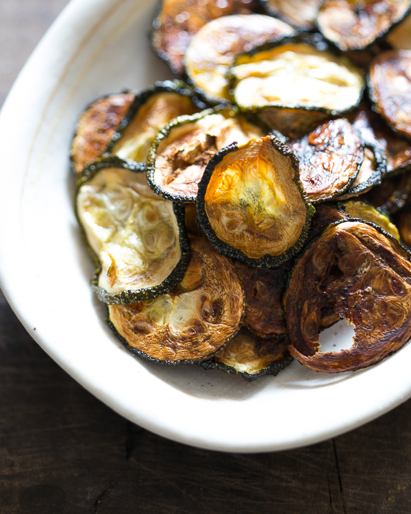 baked zucchini chips 3