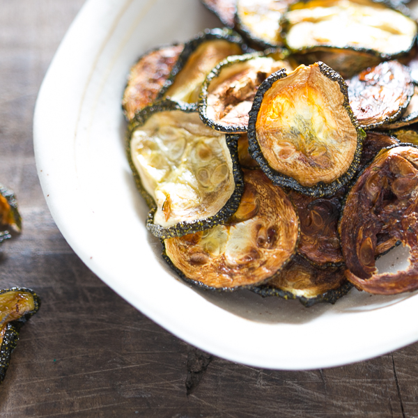 baked zucchini chips 4