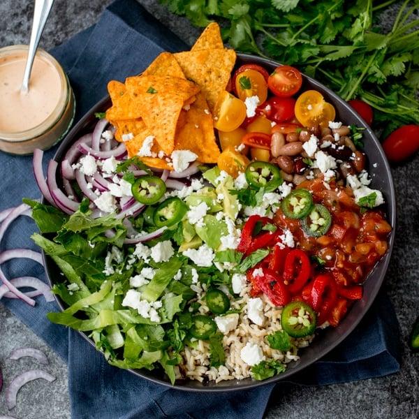 easy burrito bowl 4