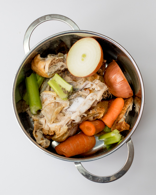 how to make chicken stock 6