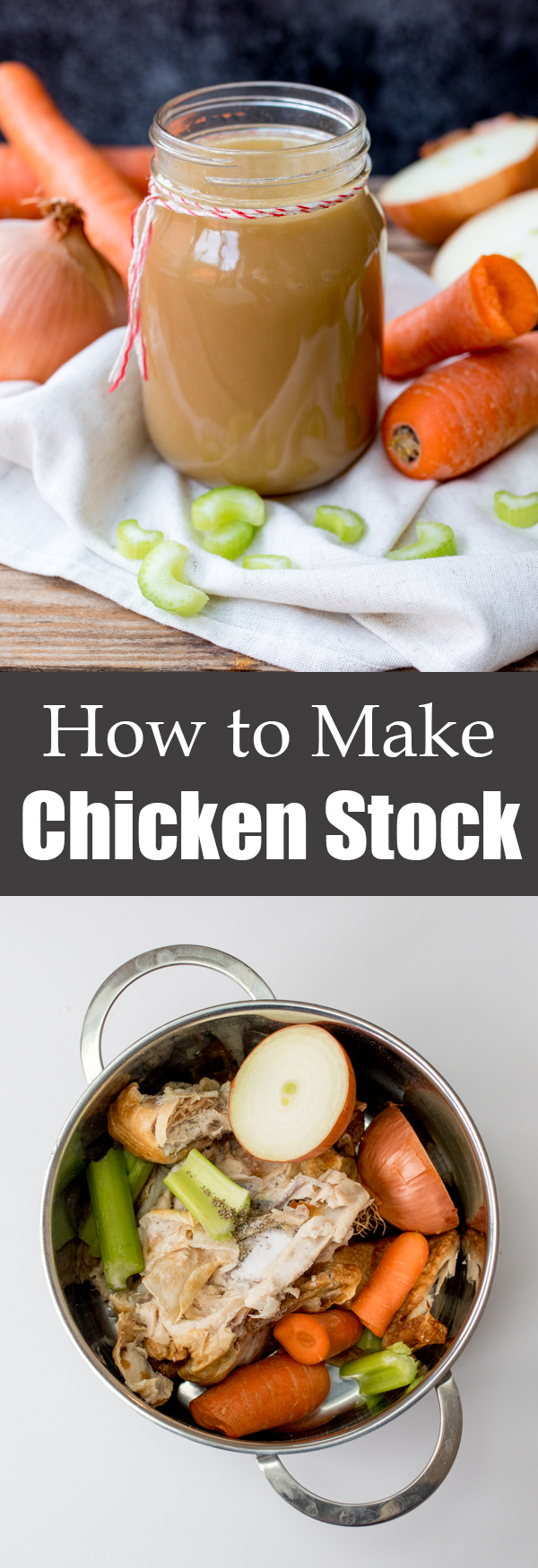 how to make chicken stock pin