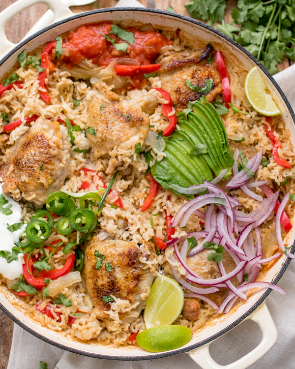 one pot mexican chicken rice 2