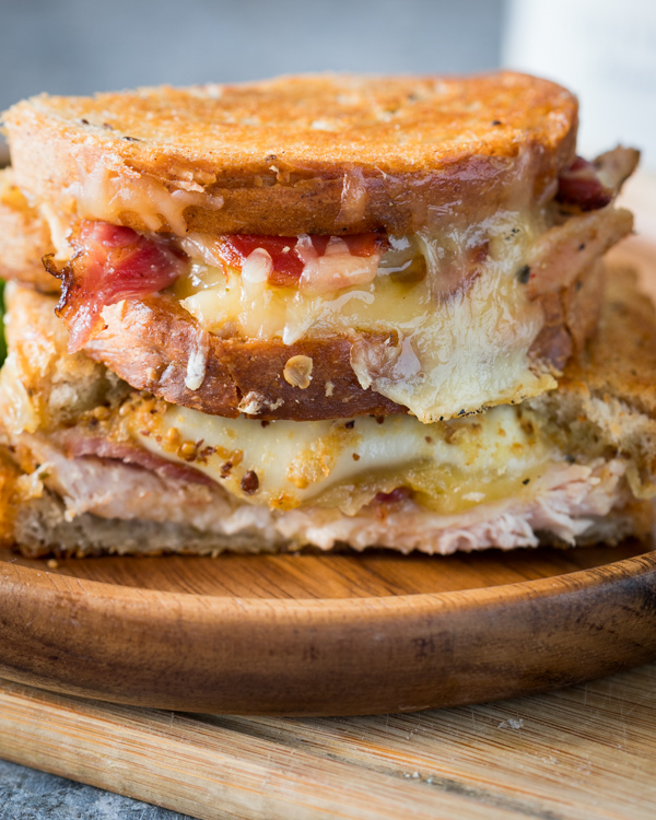 Chicken Bacon Ranch Grilled Cheese Recipe