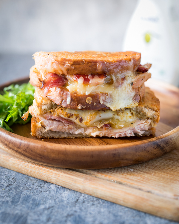 chicken bacon ranch grilled cheese 3