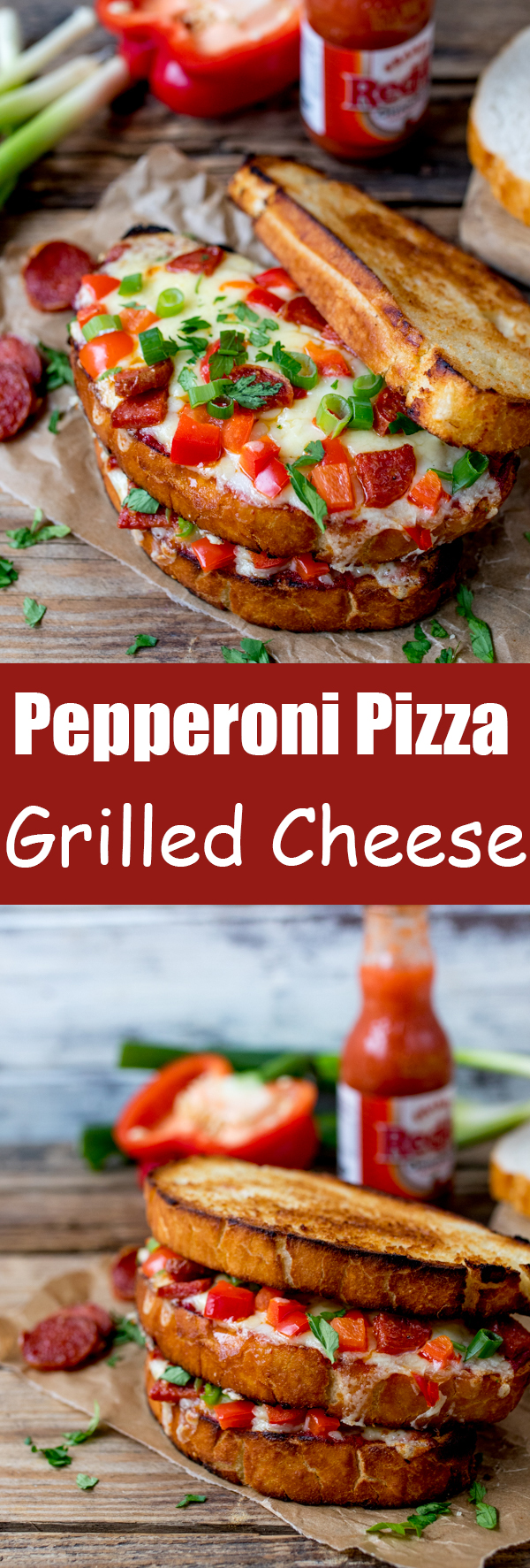 pepperoni pizza grilled cheese pin