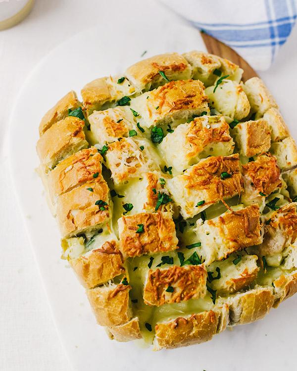 spinach artichoke pull apart bread 2