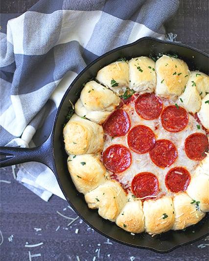 garlic bread pizza dip 2