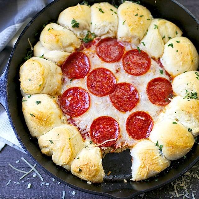 garlic bread pizza dip 3