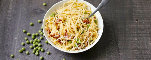 linguini carbonara 1