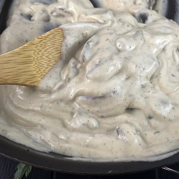 easy vegan mushroom alfredo 6