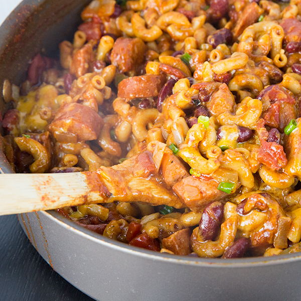 one pot spicy chili mac 5