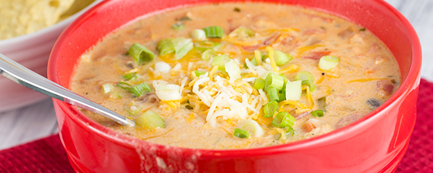 cheesy chicken enchilada soup 1