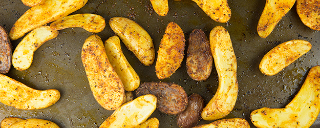 easy oven roasted fingerling potatoes 1