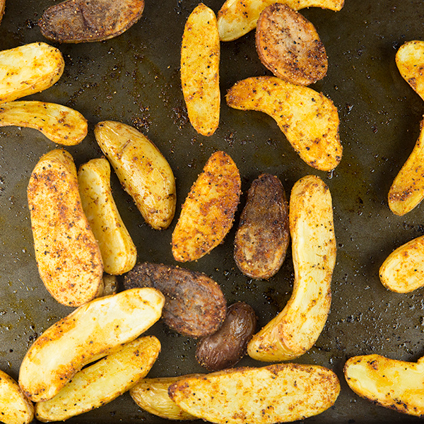 Easy Oven Roasted Fingerling Potatoes