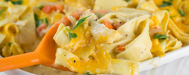 Cheesy Turkey Noodle Casserole